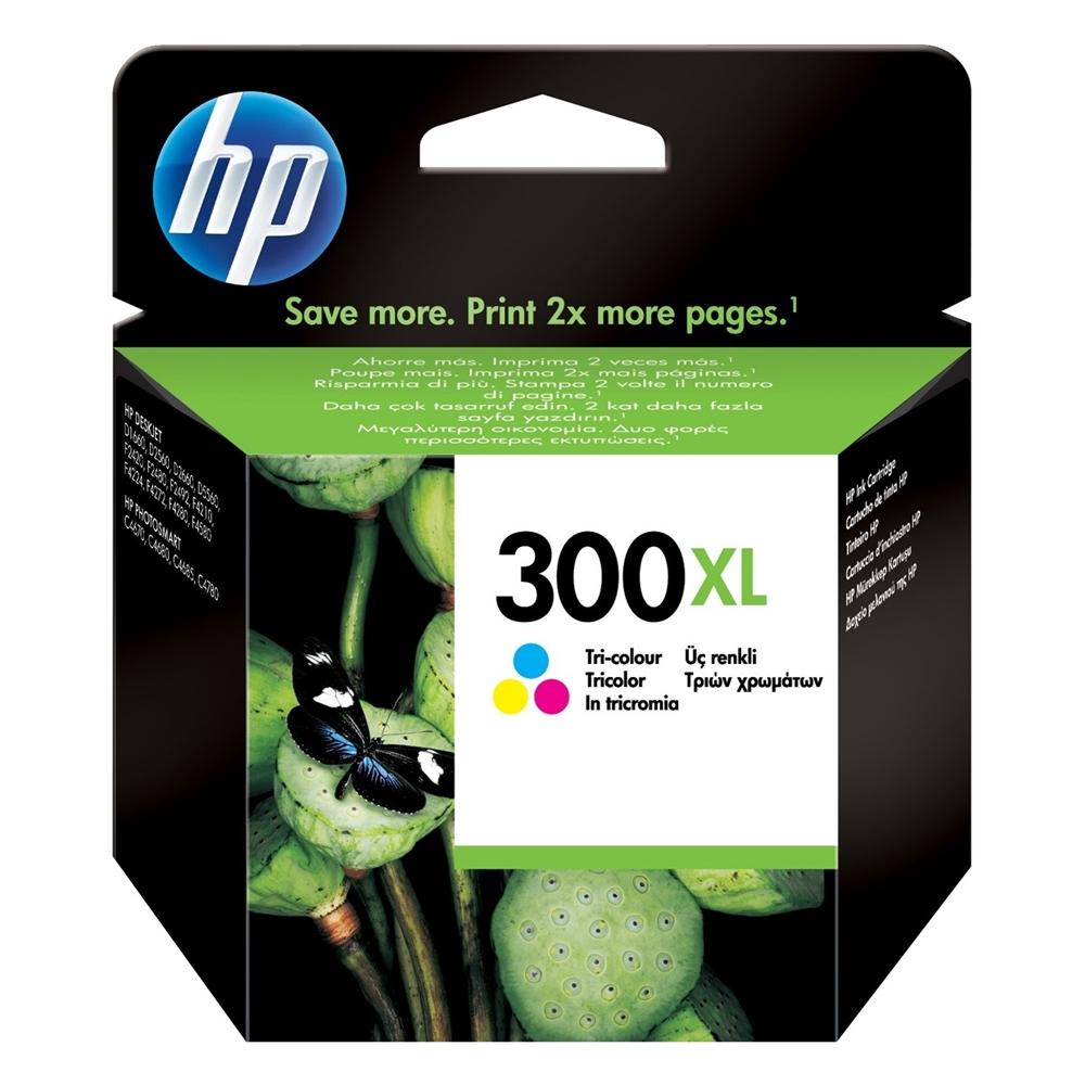 HP Μελάνι Inkjet Nο.300XL Colour (CC644EE) (HPCC644EE)