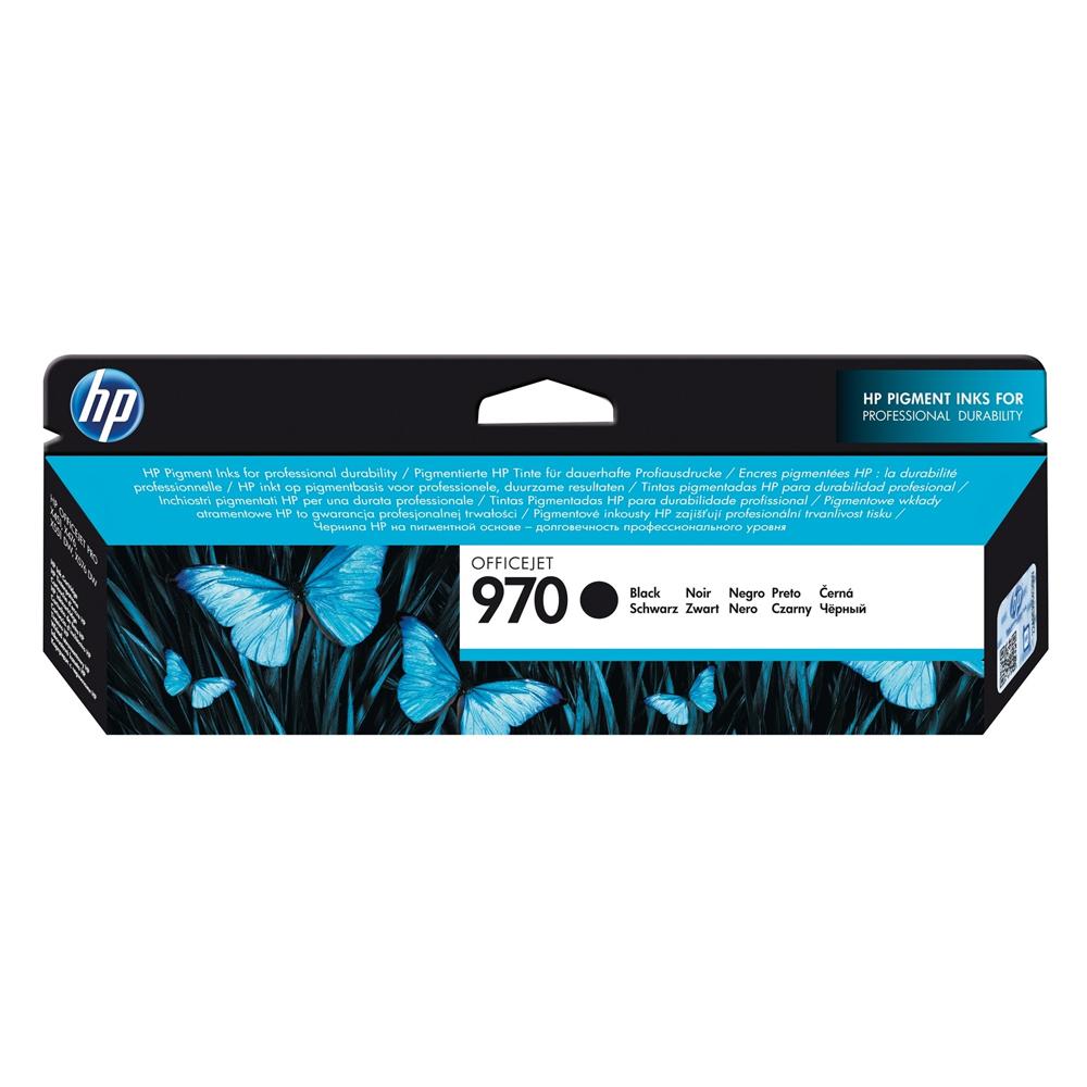 HP Μελάνι Inkjet No.970 Black (CN621AE) (HPCN621AE)