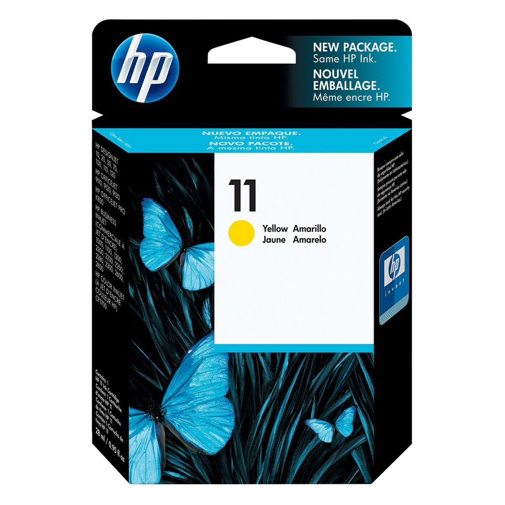 HP Μελάνι Inkjet No.11 Yellow (C4838A) (HPC4838A)