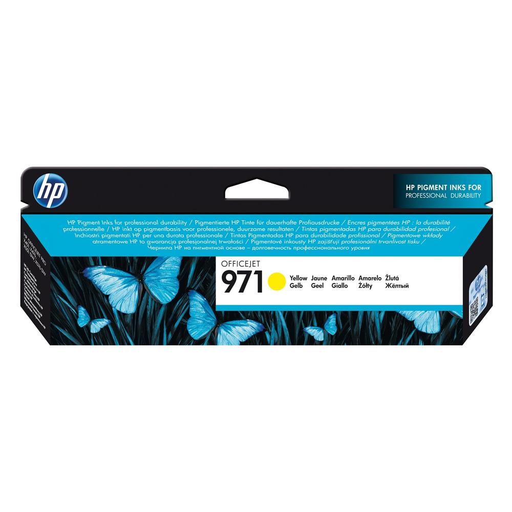 HP Μελάνι Inkjet No.971 Yellow (CN624AE) (HPCN624AE)