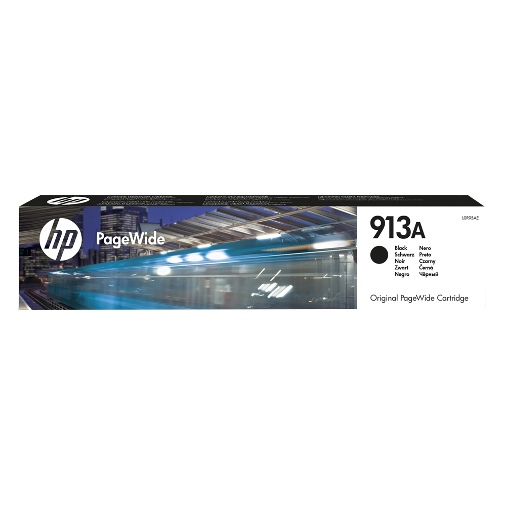 HP Μελάνι Inkjet 913A Black (L0R95AE) (HPL0R95AE)