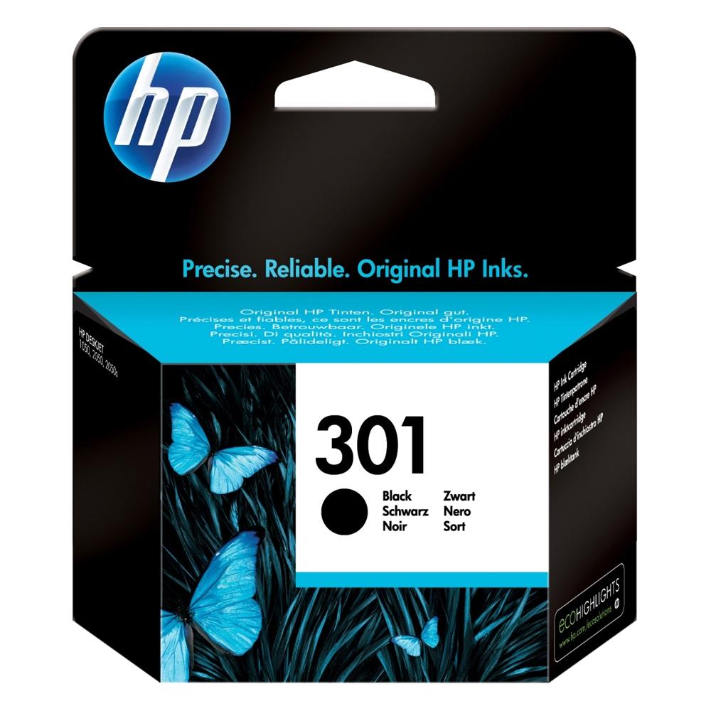 HP Μελάνι Inkjet No.301 Black (CH561EE) (HPCH561EE)