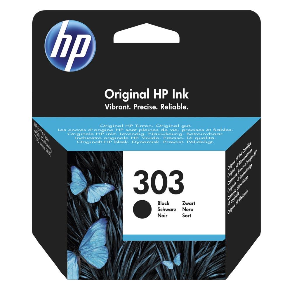 HP Μελάνι Inkjet No 303 Black (T6N02AE) (HPT6N02AE)