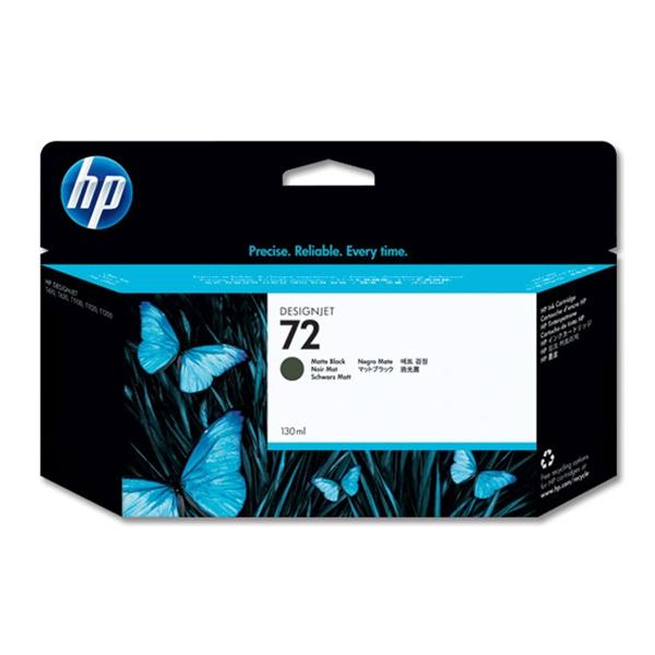 HP Μελάνι Inkjet No.72 Matte Black 130ml (C9403A) (HPC9403A)