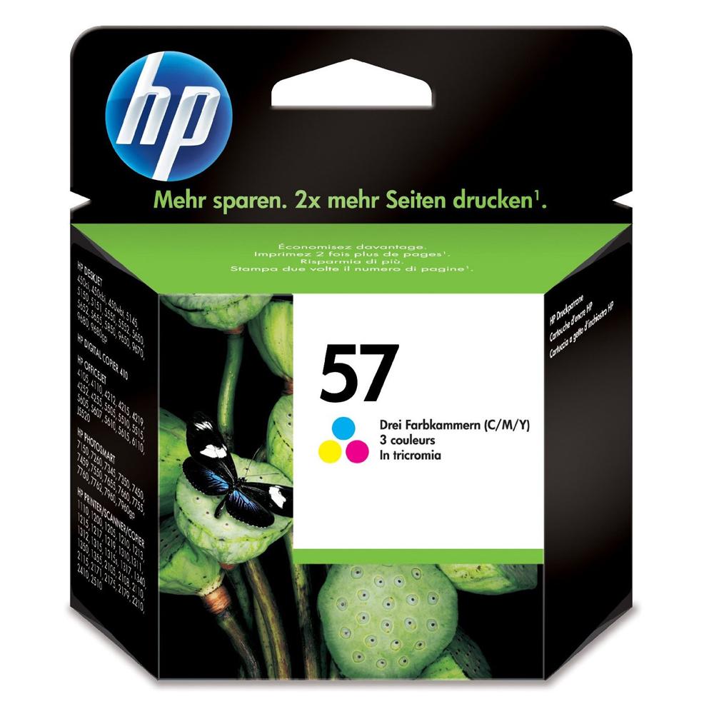 HP Μελάνι Inkjet No.57 Colour (C6657AE) (HPC6657AE)