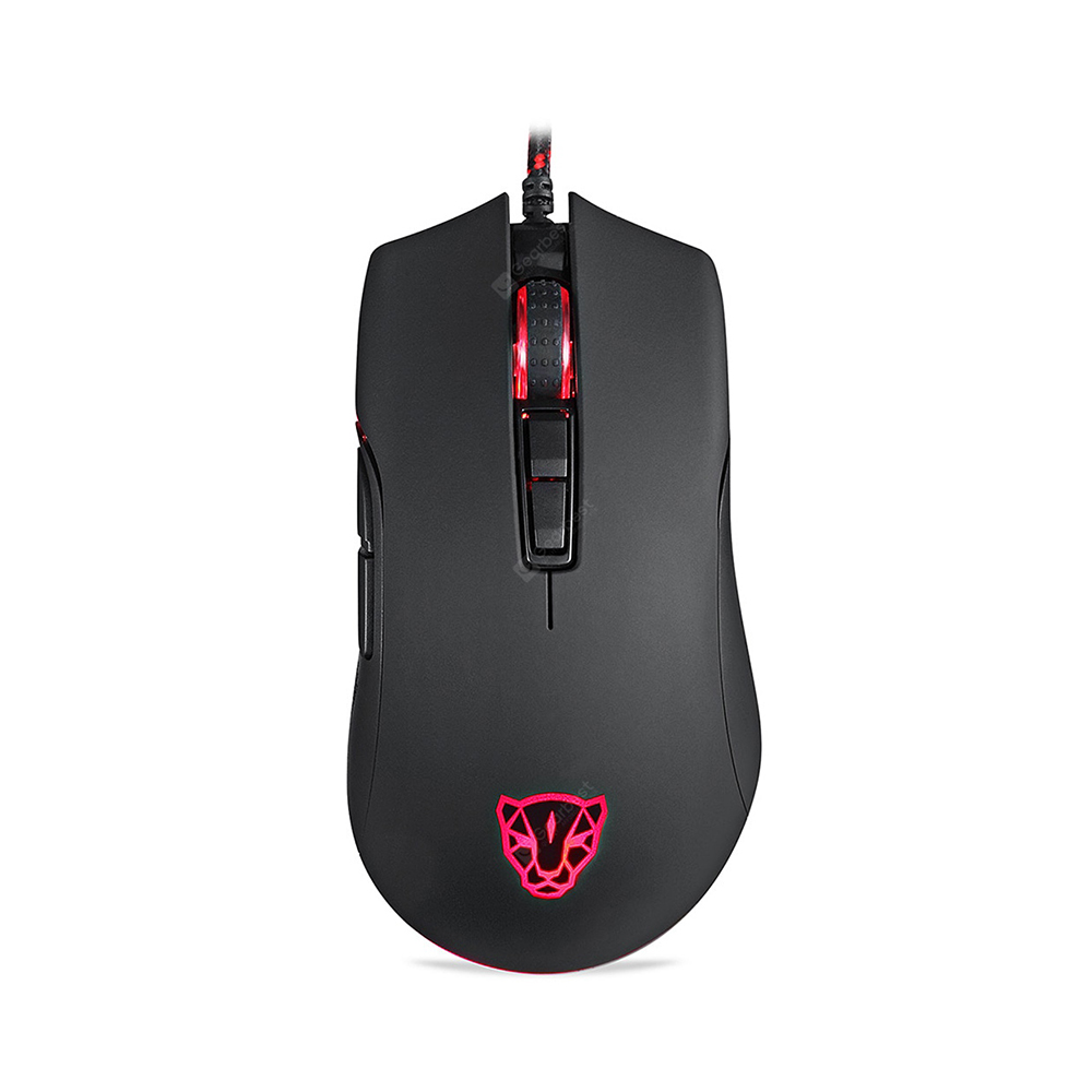 Motospeed V70 Wired Gaming Mouse Black