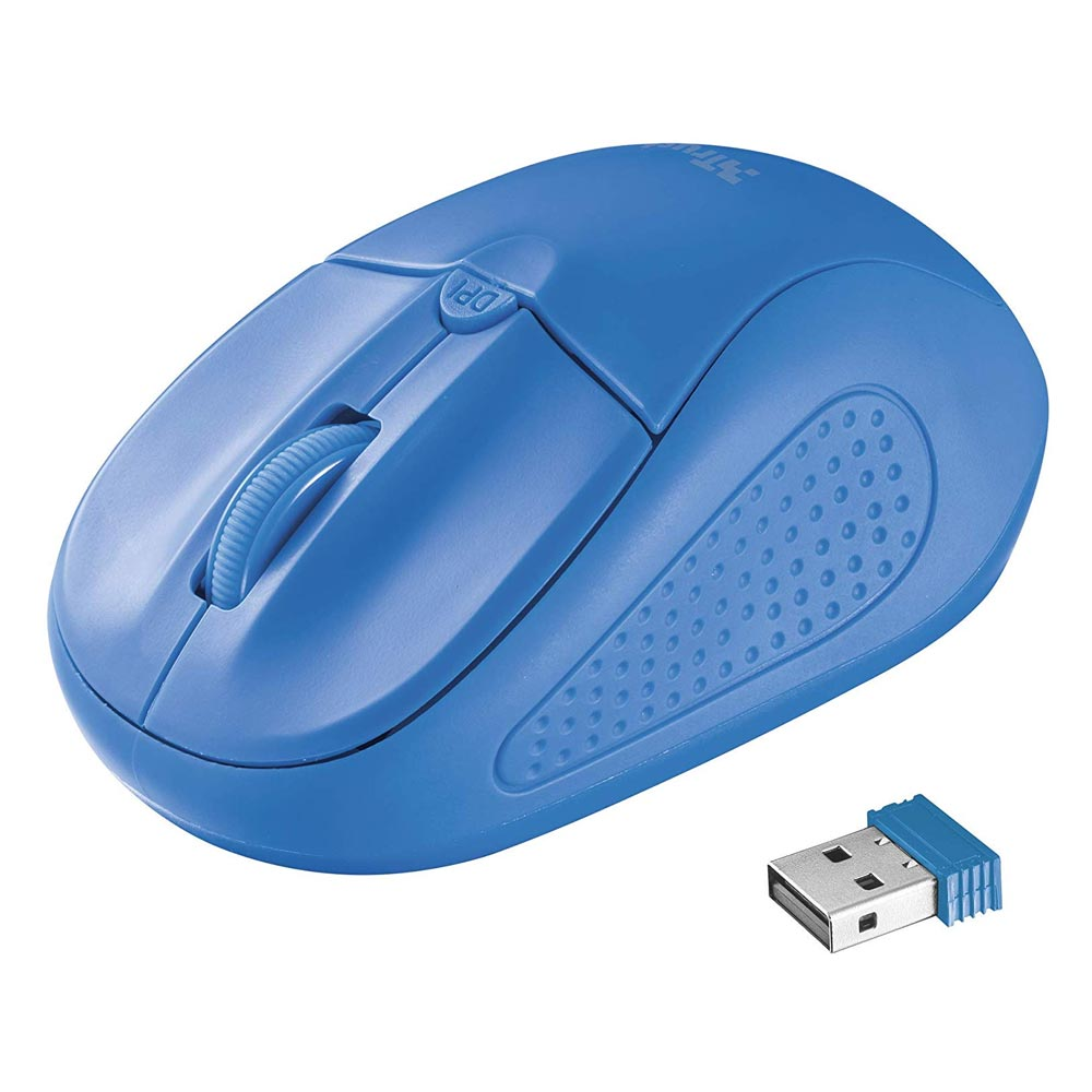 Trust Primo Wireless Mouse - blue (20786) (TRS20786)