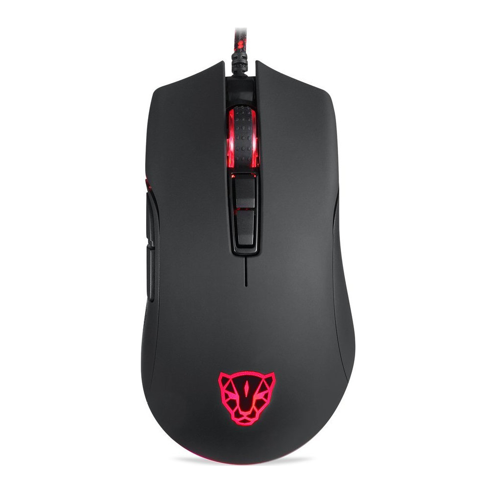 Motospeed V70 Wired gaming mouse PMW3360 black color