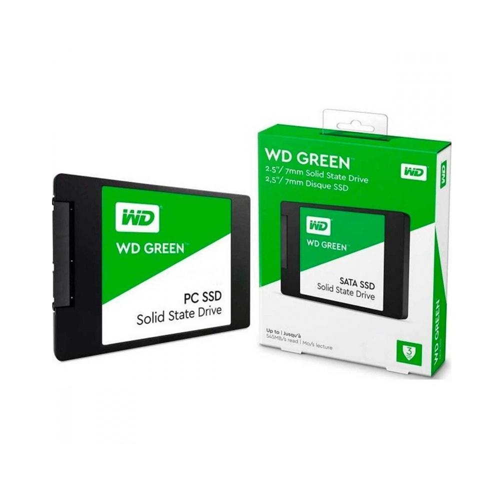 Western Digital Δίσκος SSD 2.5'' SATA III Green 1TB (WDS100T2G0A)
