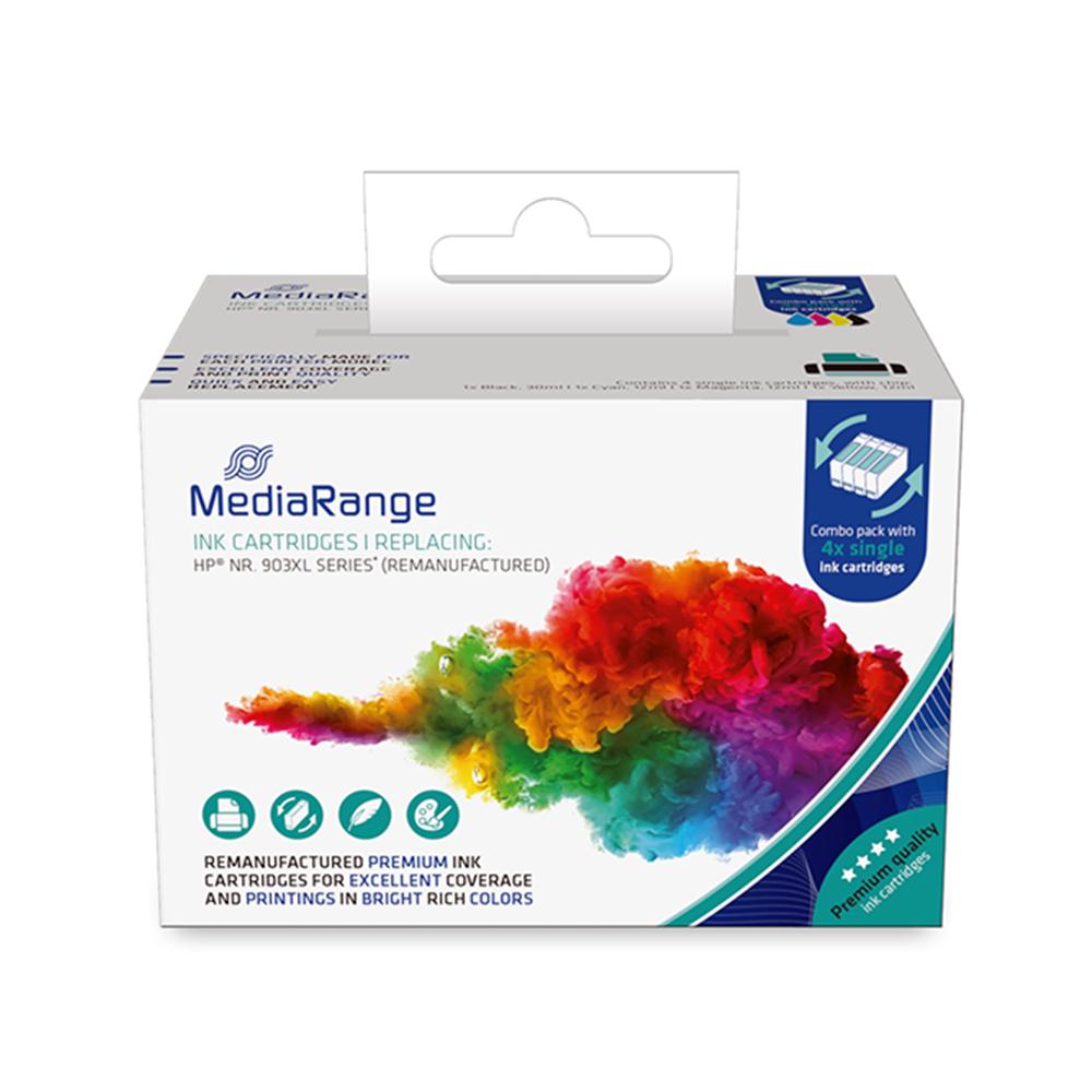 Inkjet MEDIARANGE Συμβατό για Εκτυπωτές HP (Multipack) (No.903) (MRHP903XL)