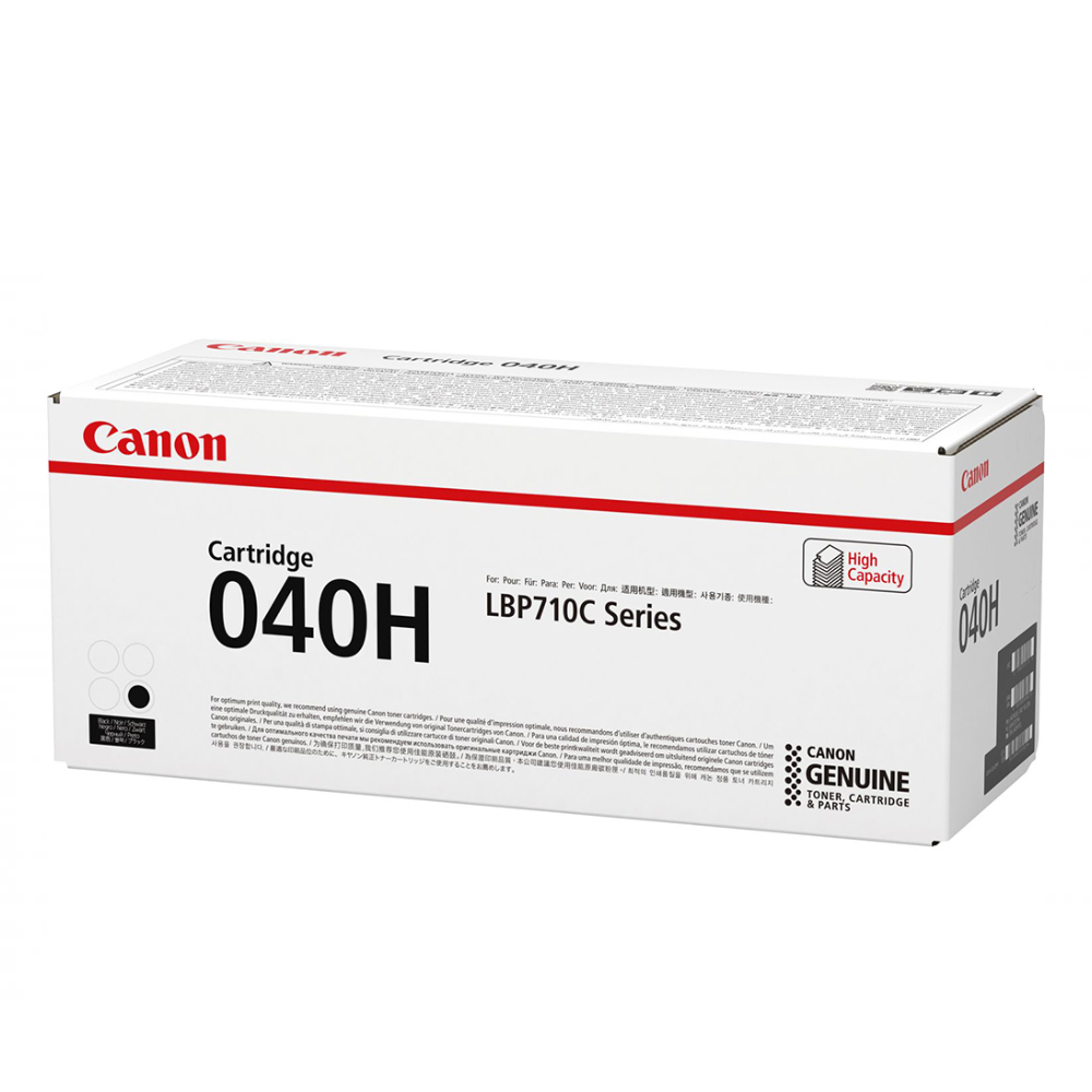 CANON LBP710 SERIES TONER BLACK HC (12.5) (0461C001) (CAN-040BKH)