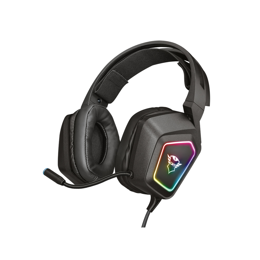 Trust GXT 450 Blizz RGB 7.1 Surround Gaming Headset (23191) (TRS23191)