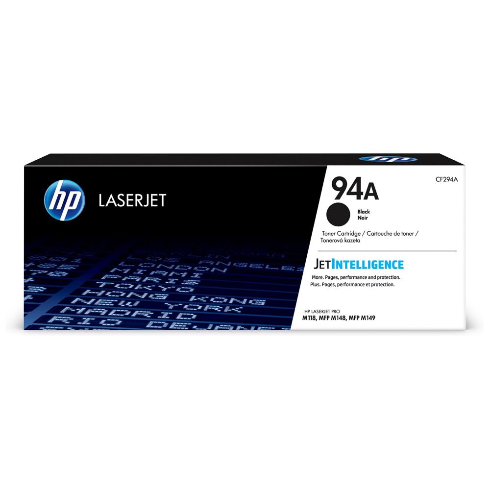 HP 94A LaserJet Black Toner (1.2k) (CF294A) (HPCF294A)