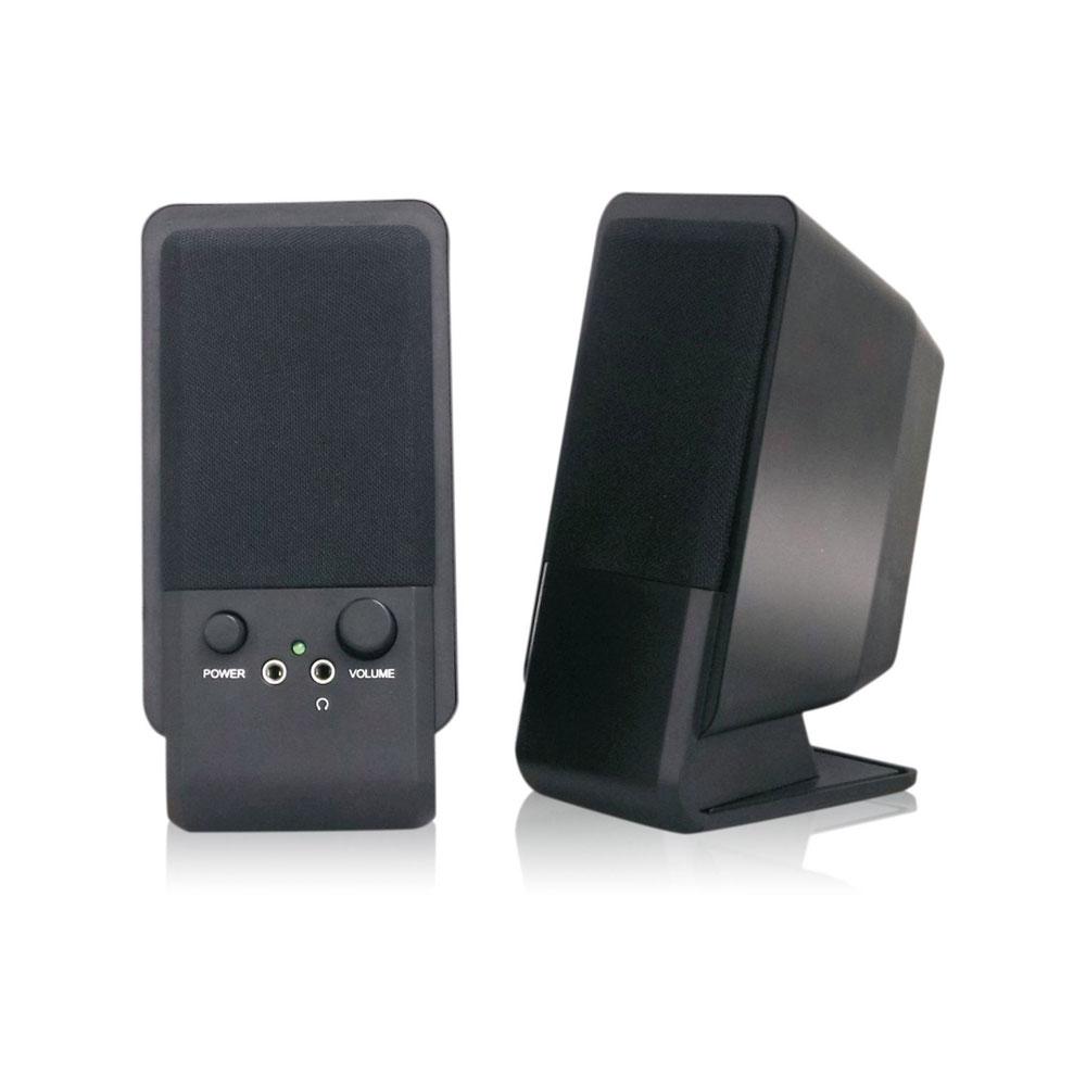 MediaRange Compact desktop Speaker (Black) (MROS352)