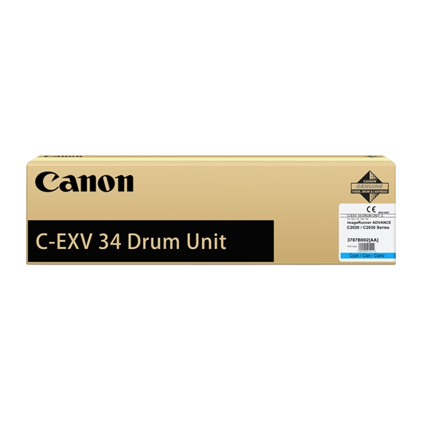 CANON IRC2020/2030 DRUM CYAN (C-EXV34) (3787B003) (CAN-T2020DRC)