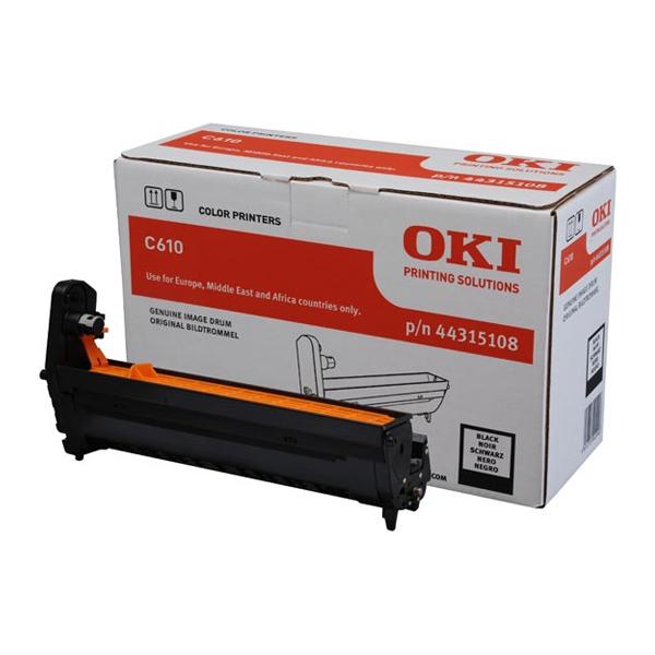 OKI C610 DRUM BLK 20k (44315108) (OKI-C610-BEP)