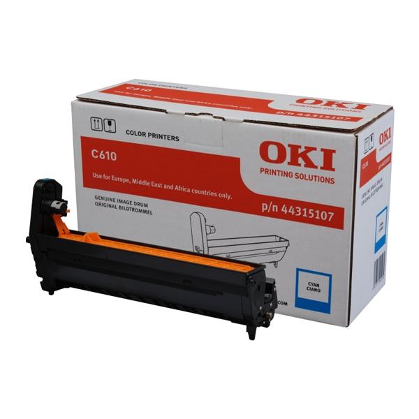 OKI C610 DRUM CYAN 20k (44315107) (OKI-C610-CEP)