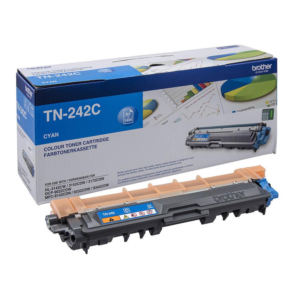 Toner Brother TN-242C Cyan (TN-242C) (BRO-TN-242C)