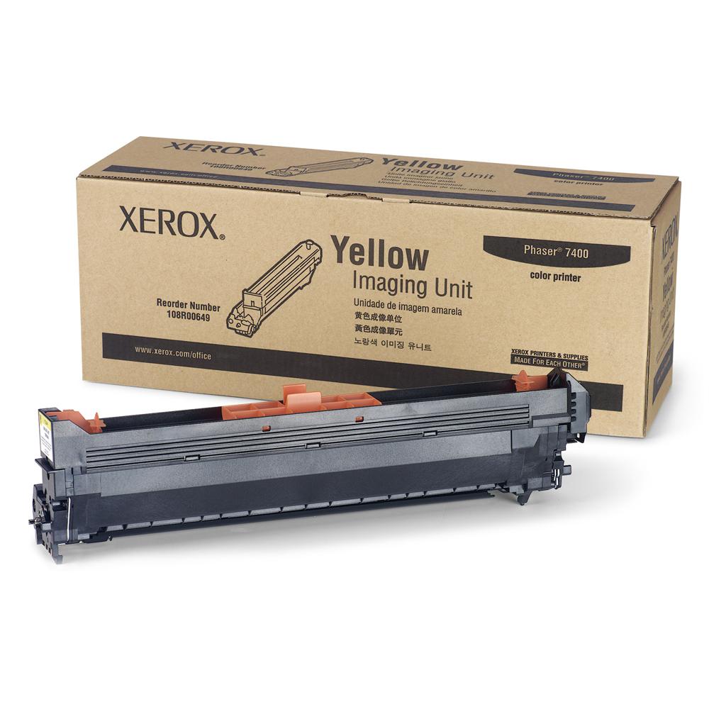 XEROX PHASER 7400 IMAGING DRUM YELLOW (30k) (108R00649) (XER108R00649)