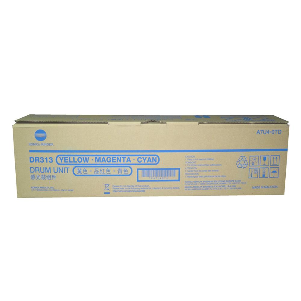 KONICA MINOLTA BIZHUB C258/308/368 DRUM COLOUR (A7U40TD) (MINDR313CMY)
