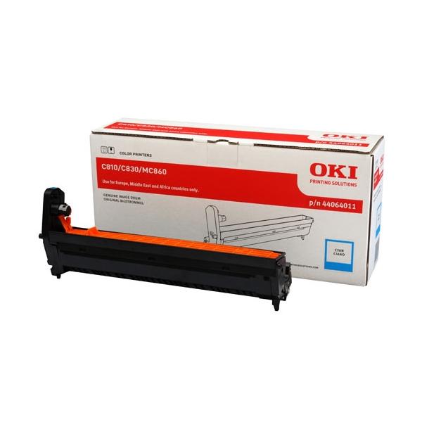 OKI C810/C830/MC860/C801/C821 DRUM CYAN 20K (44064011) (OKI-C810-CEP)
