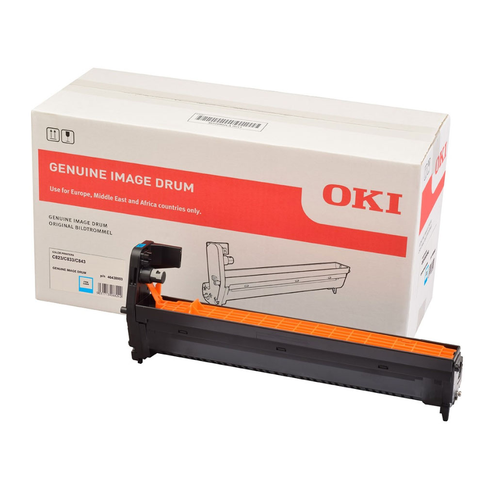 OKI C823/833/843 DRUM CYAN (46438003) (OKI-C823-CEP)