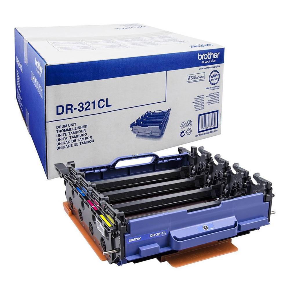 Toner Brother DR-321CL Drum BK/C/M/Y (DR-321CL) (BRO-DL-321CL)