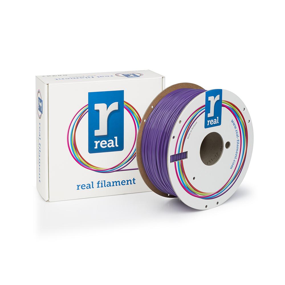 REAL PLA 3D Printer Filament - Purple - spool of 1Kg - 1.75mm (REFPLAPURPLE1000MM175)