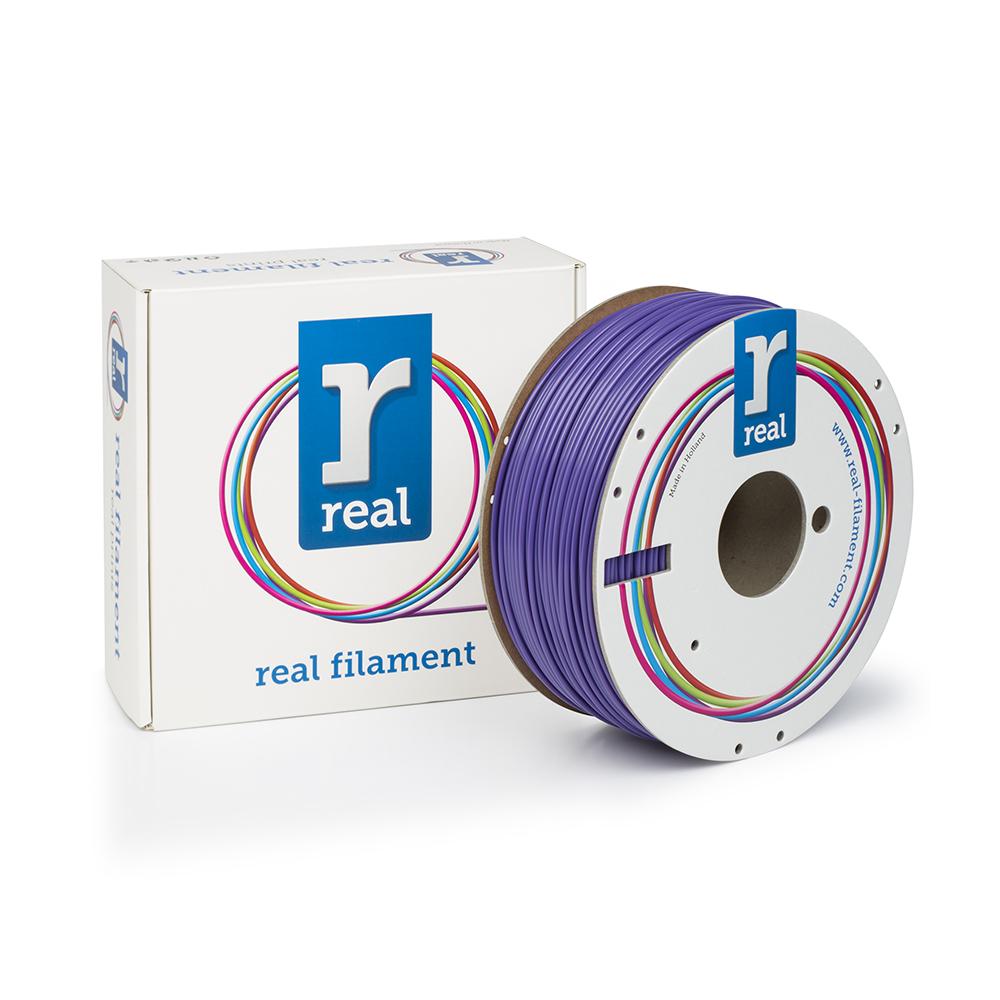 REAL ABS 3D Printer Filament - Purple - spool of 1Kg - 2.85mm (REFABSPURPLE1000MM3)