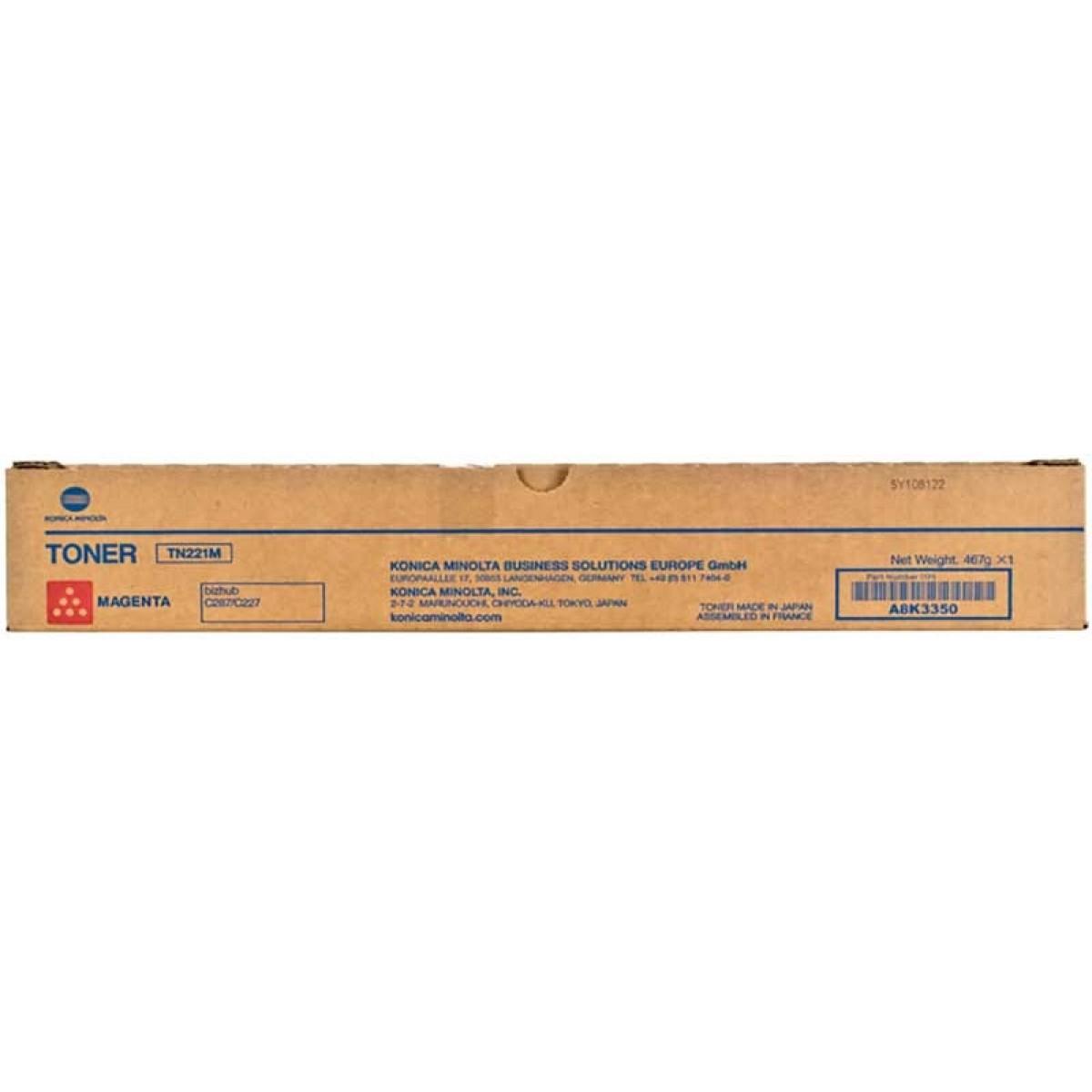 KONICA MINOLTA BIZHUB C227/287 TONER MAGENTA (A8K3350) (MINTN221M)
