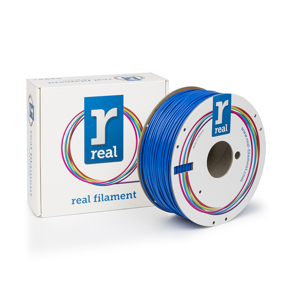 REAL ABS 3D Printer Filament - Blue - spool of 1Kg - 2.85mm (REFABSBLUE1000MM3)