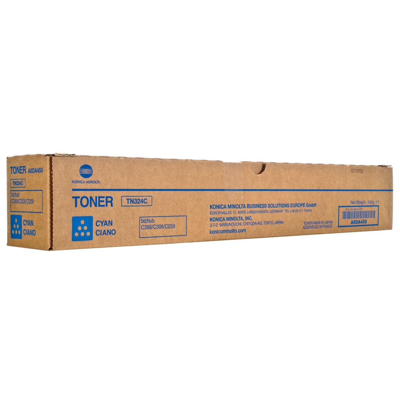 KONICA MINOLTA BIZHUB C258/308/368 TONER CYAN (A8DA450) (MINTN324C)