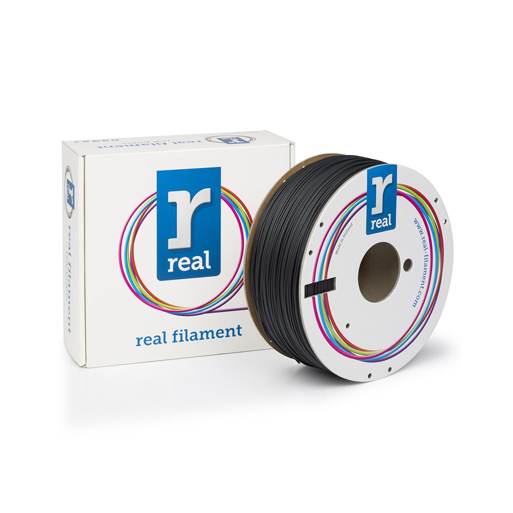 REAL HIPS 3D Printer Filament - Black - spool of 1Kg - 1.75mm (REFHIPSB175MM1000)