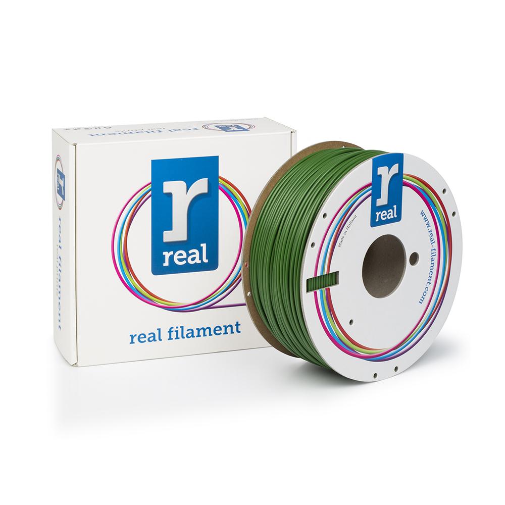 REAL ABS 3D Printer Filament - Green - spool of 1Kg - 2.85mm (REFABSGREEN1000MM3)