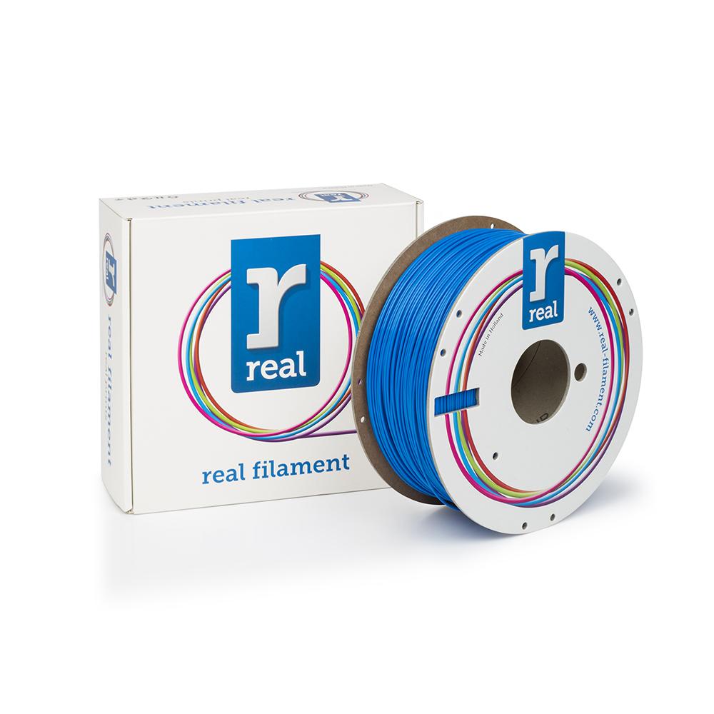REAL PLA 3D Printer Filament - Blue - spool of 1Kg - 1.75mm (REFPLABLUE1000MM175)