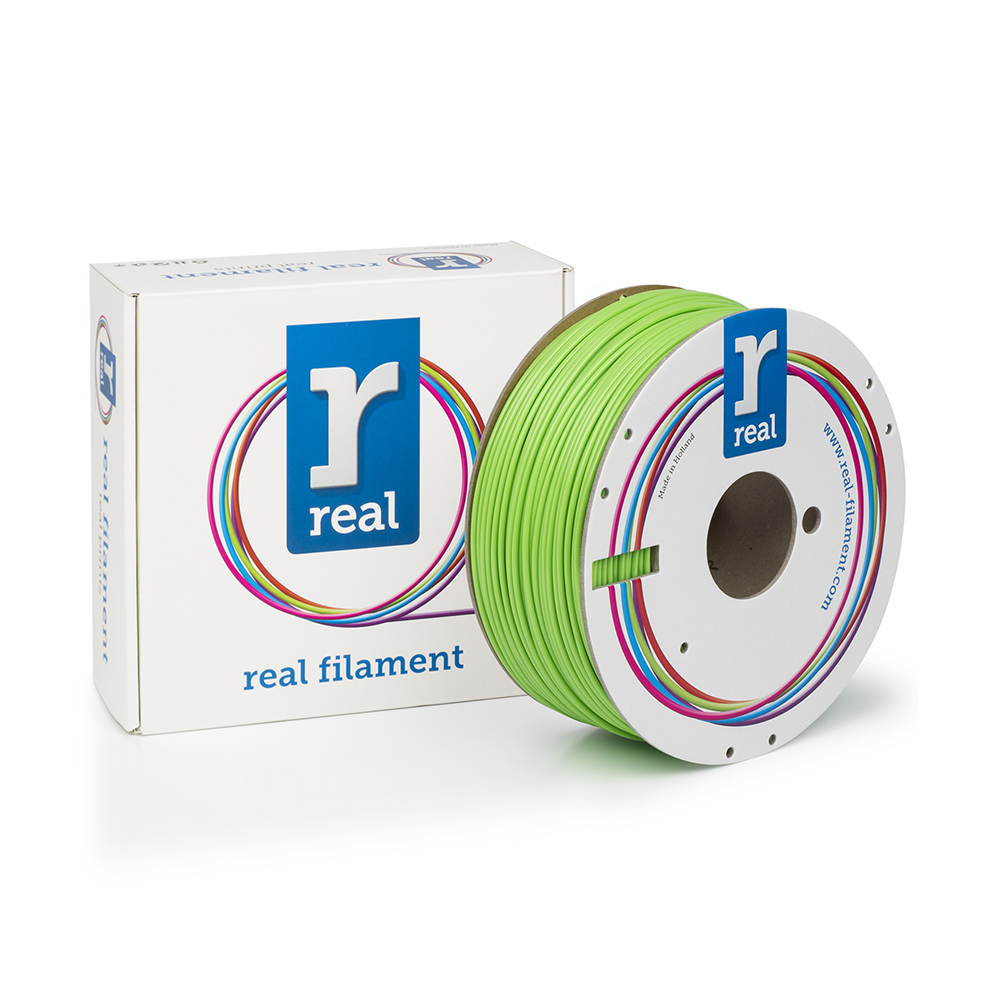 REAL ABS 3D Printer Filament - Nuclear green - spool of 1Kg - 2.85mm (REFABSNGREEN1000MM3)