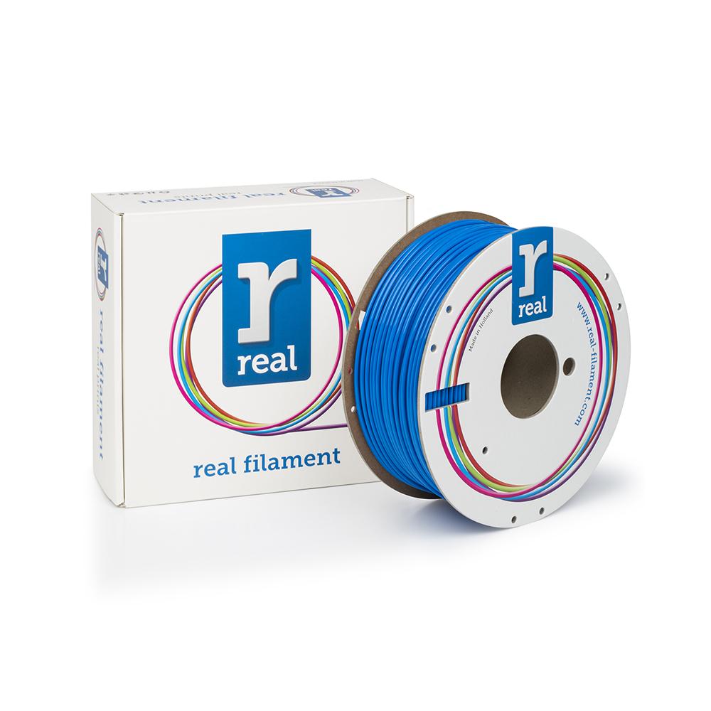 REAL PLA 3D Printer Filament - Blue - spool of 1Kg - 2.85mm (REFPLABLUE1000MM3)