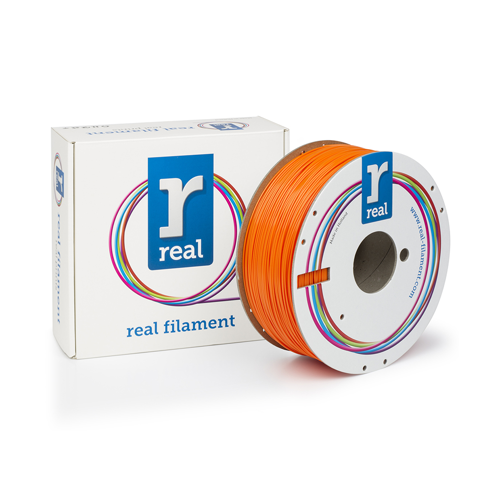REAL ABS 3D Printer Filament - Orange - spool of 1Kg - 1.75mm (REFABSORANGE1000MM175)