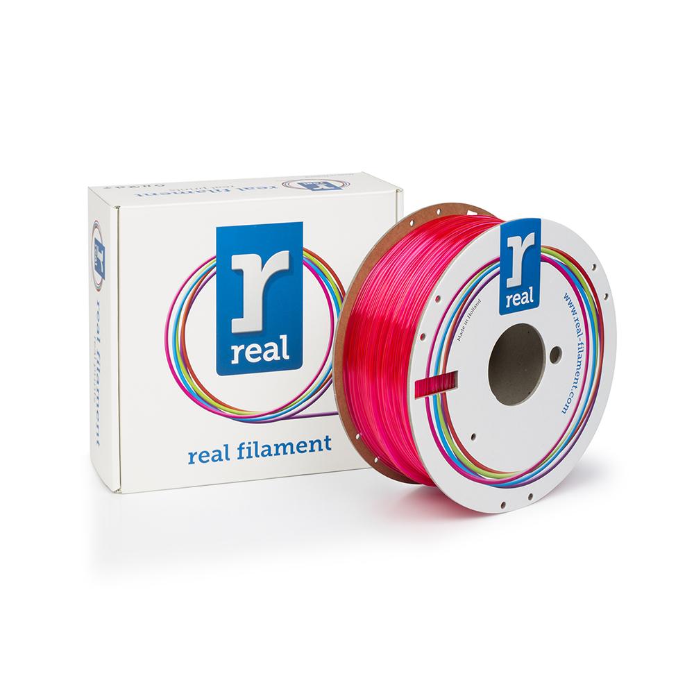 REAL PETG 3D Printer Filament - Translucent Magenta - spool of 1Kg - 1.75mm (REFPETGMAGENTA1000MM175)