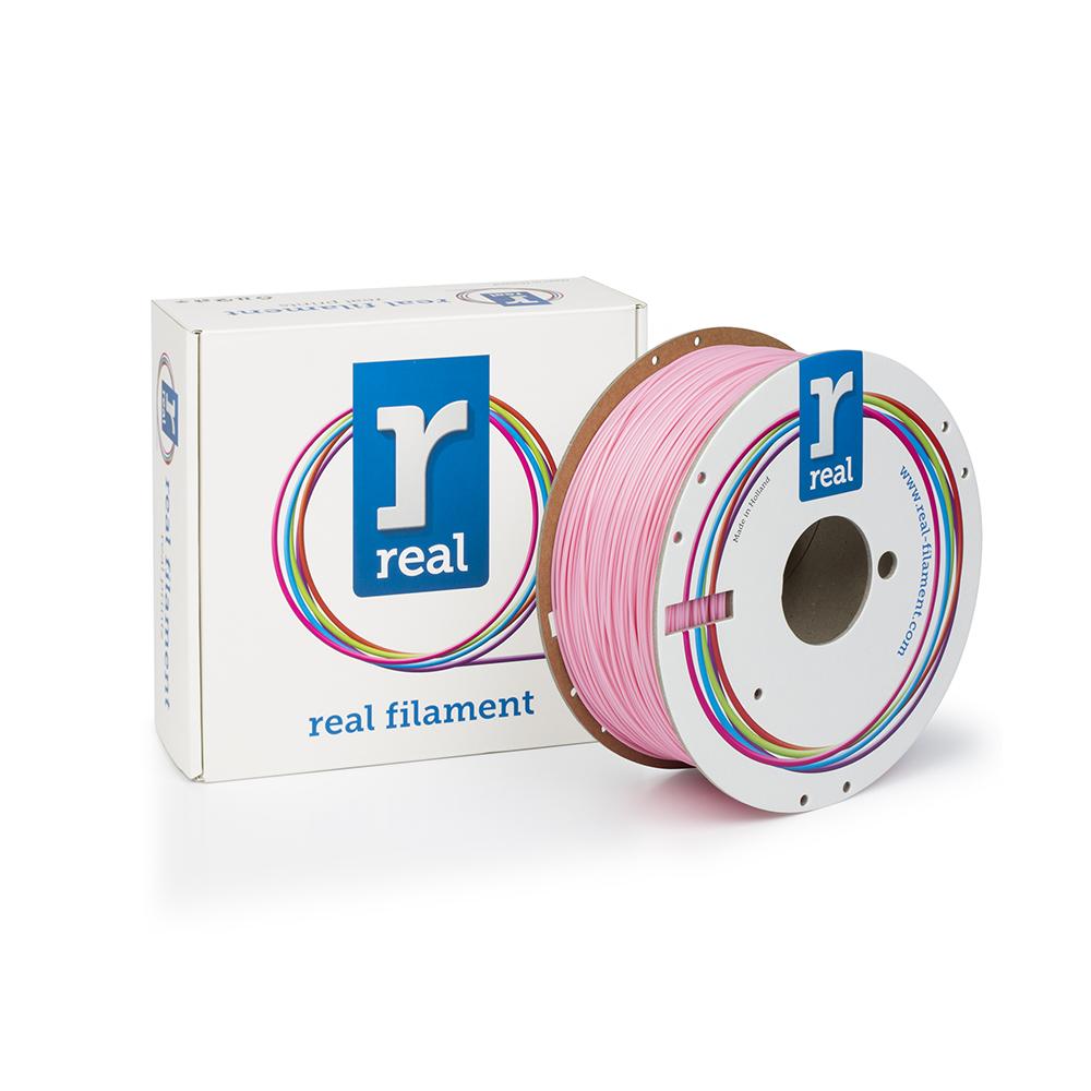 REAL PLA 3D Printer Filament - Pink - spool of 1Kg - 1.75mm (REFPLAPINK1000MM175)