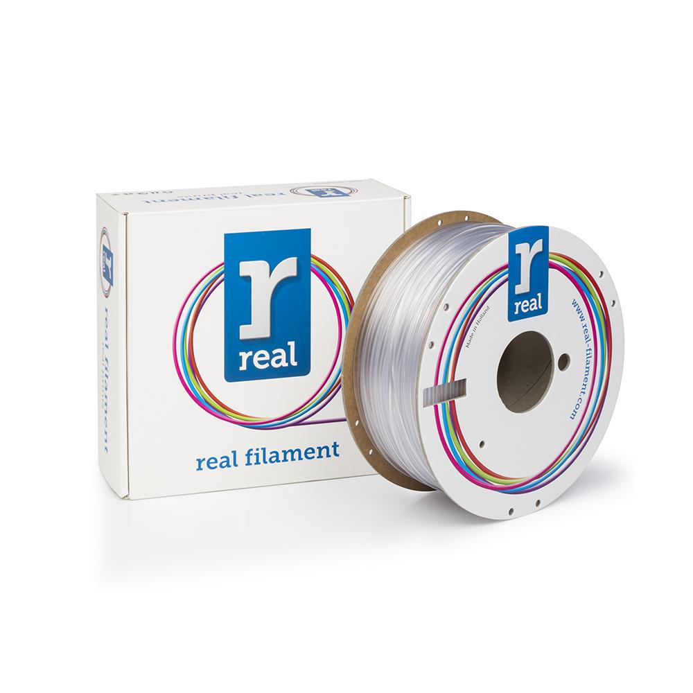 REAL PETG 3D Printer Filament - Neutral - spool of 1Kg - 2.85mm (REFPETGNEUTRAL1000MM3)