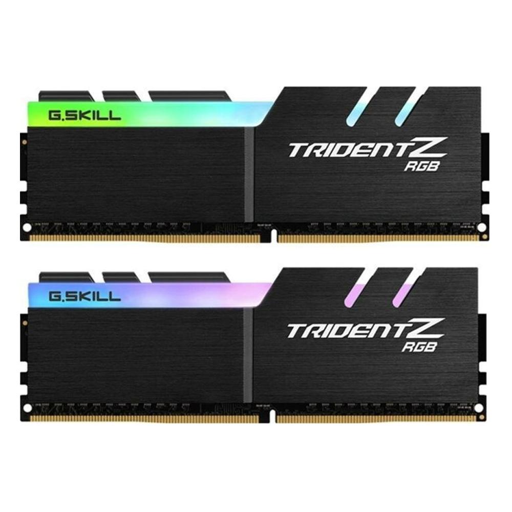 G.Skill Trident Z RGB (For AMD) DDR4-3200MHz 32GB (2x16GB) CL16-18-18-38 1.35V (F4-3200C16D-32GTZRX) (GSKF4-3200C16D-32GTZRX)