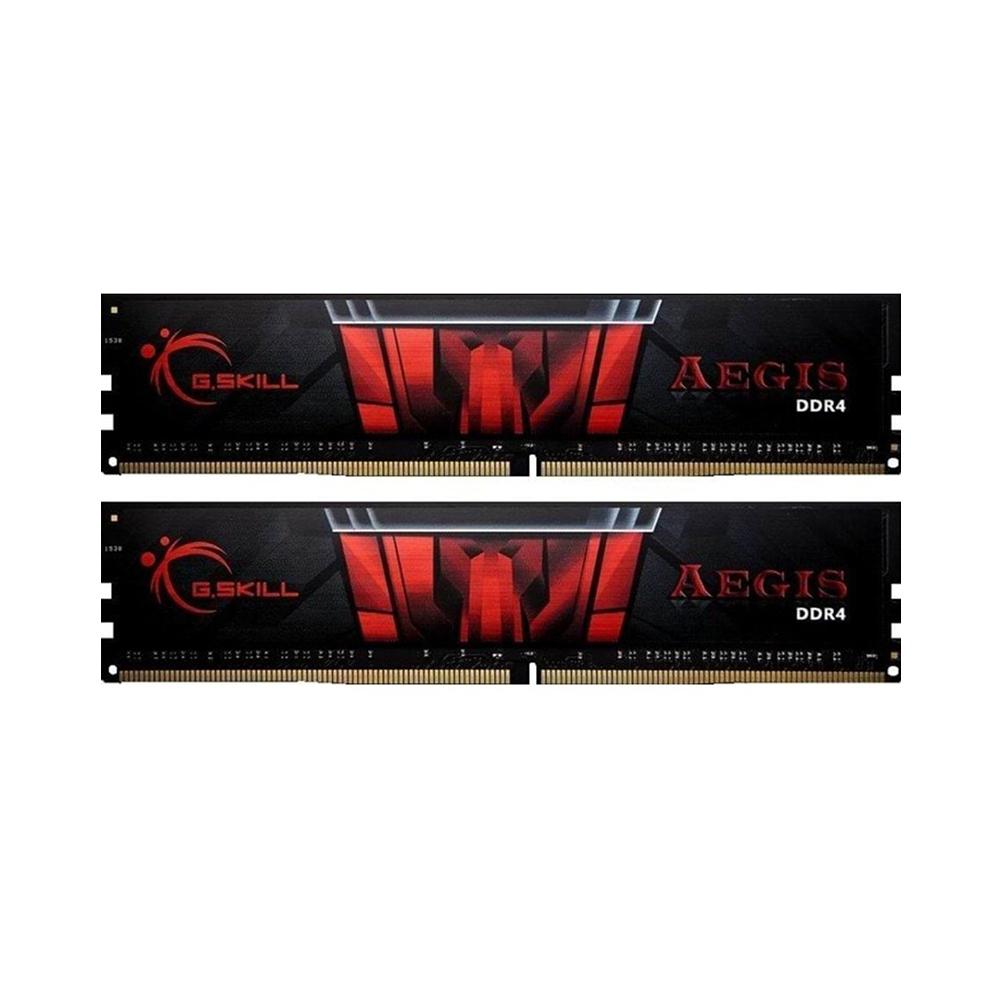 G.Skill RAM Aegis DDR4-3000MHz 16GB Kit (2x8GB) (F4-3000C16D-16GISB) (GSKF43000C16D16GISB)