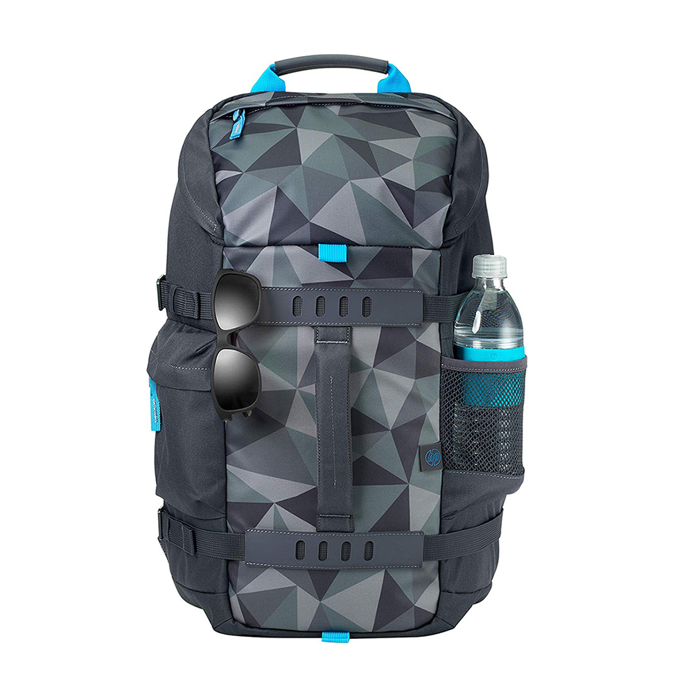 HP 15.6 Odyssey Facet Grey Backpack (5WK93AA) (HP5WK93AA)