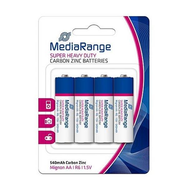 Super Heavy Duty Battery MediaRange AA 1.5V (LR6) (4 Pack) (MRBAT144)