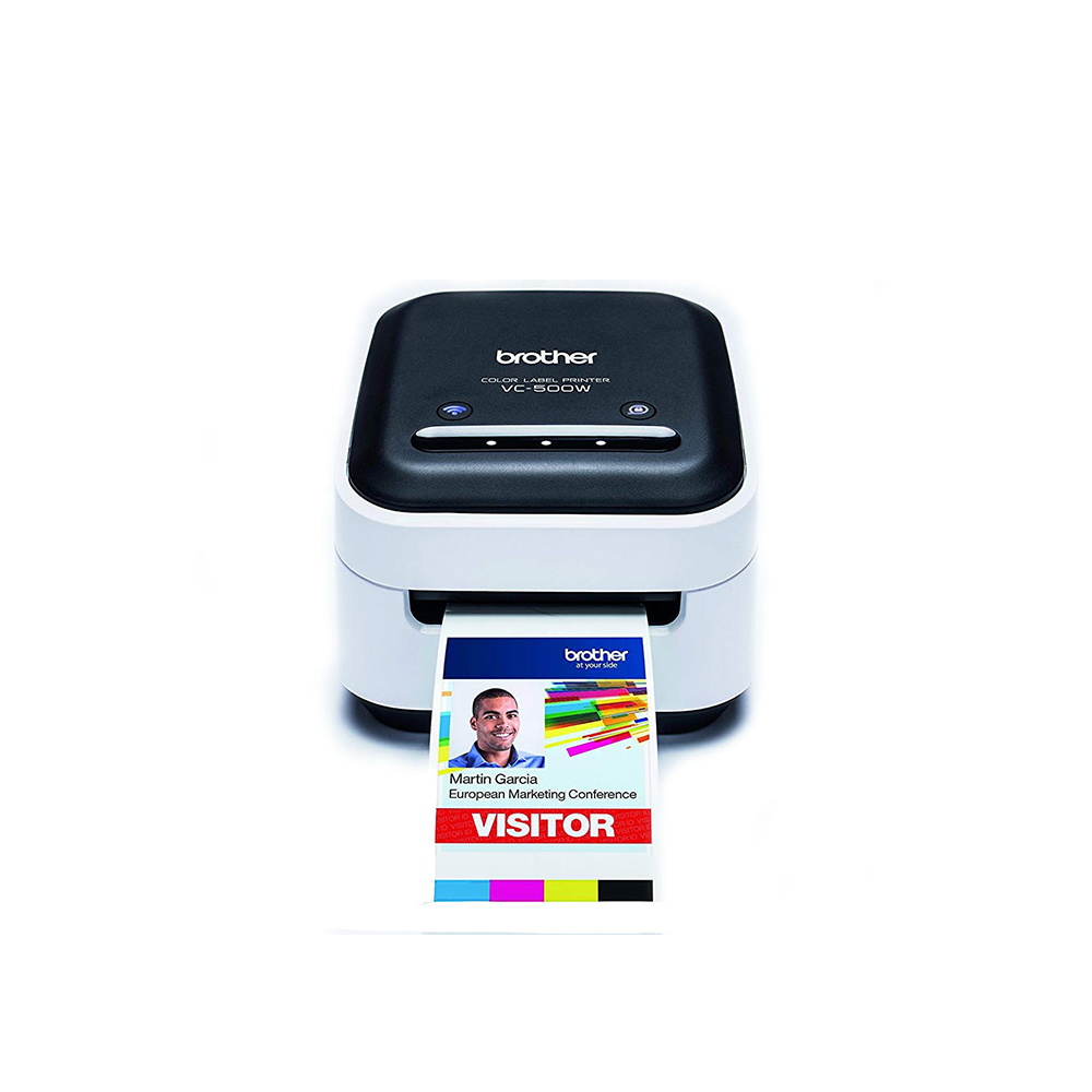 BROTHER VC-500W Full Color Label Printer (VC500W) (BROVC500W)