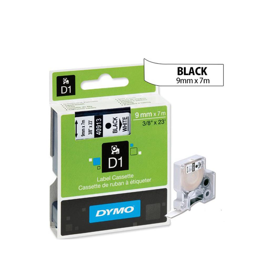Ταινία Ετικετογράφου DYMO D1 40913 9mmx7m Black on White (DYMO40913)