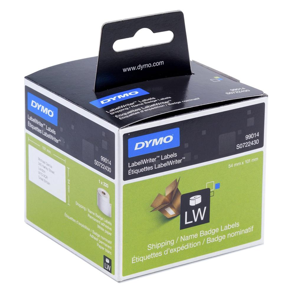 Ετικέτες Ταχυδρομικών Αποστολών DYMO Name Badge 99014 54 x 101 mm (Λευκές) (DYMO99014)