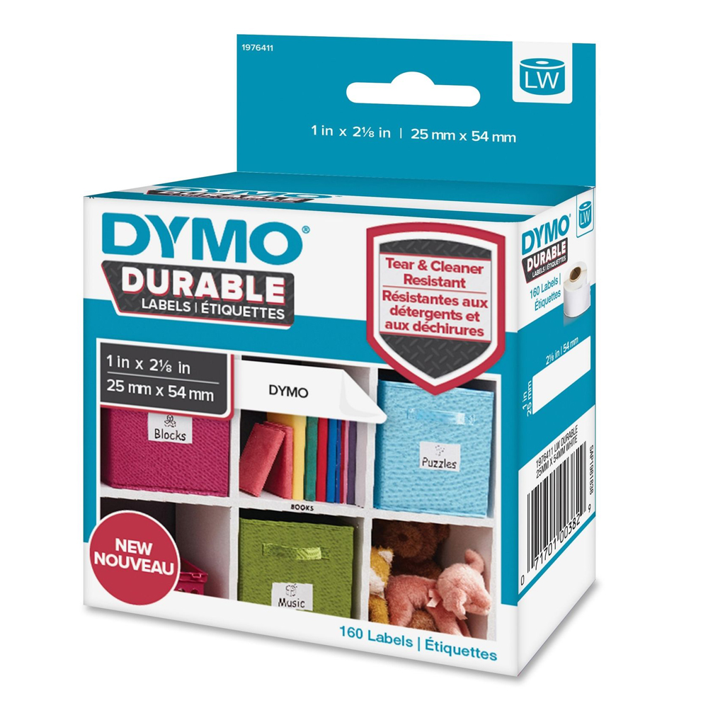 Ετικέτες Γενικής Χρήσης DYMO Durable 25x54mm. (Λευκό) (1976411) (DYMO1976411)