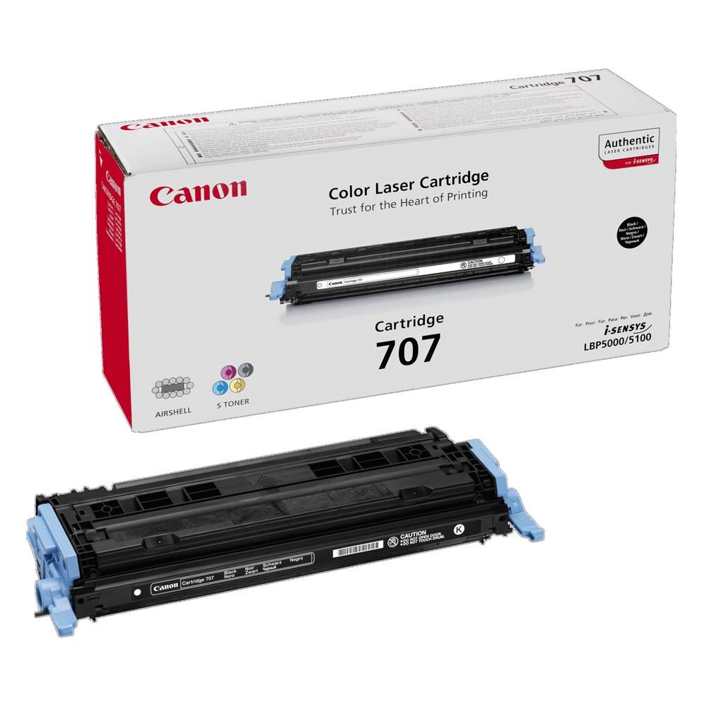 CANON CLBP 5000 BLK TNR CRTR (2.5k) (9424A004) (CAN-707BK)